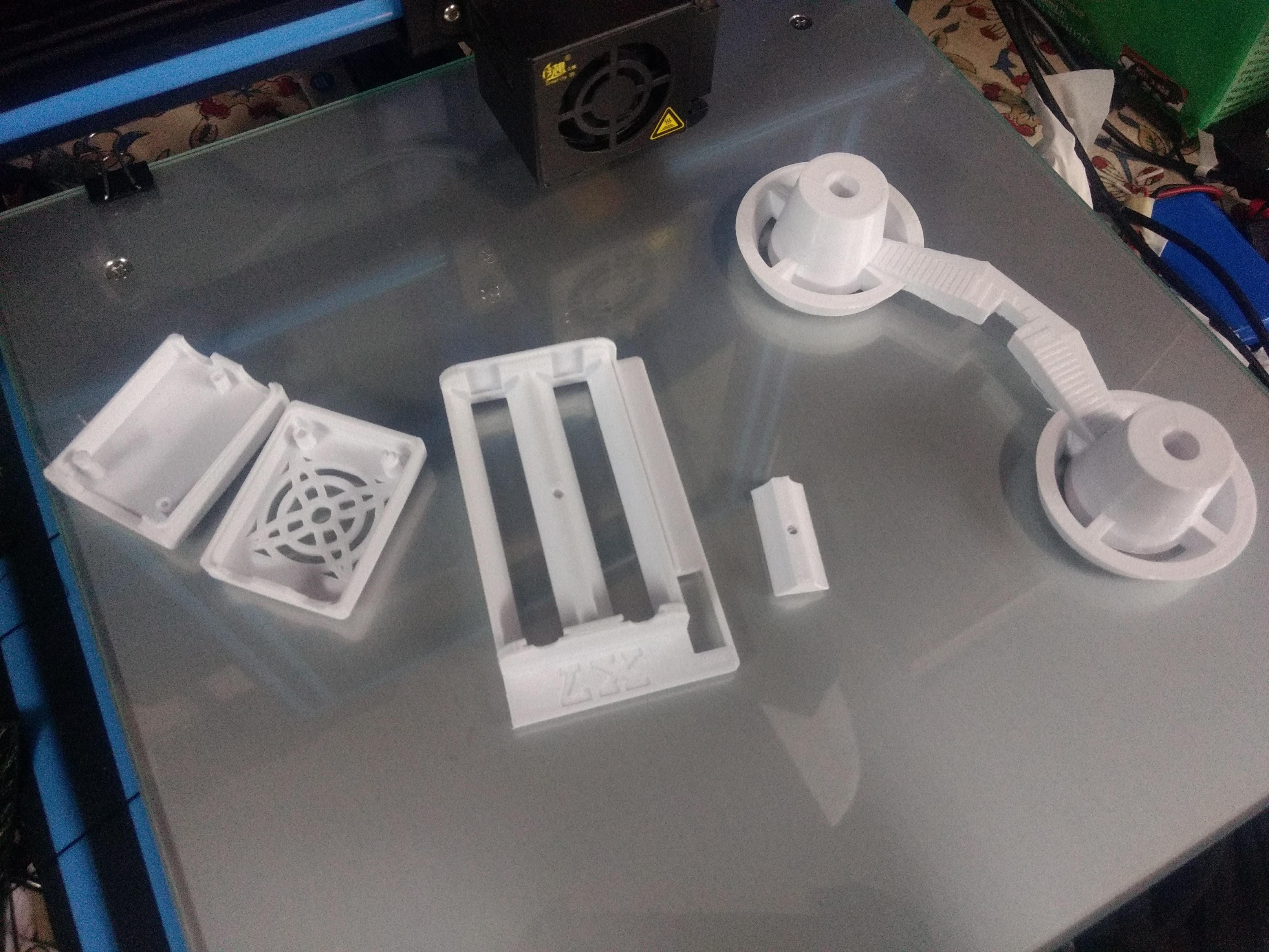 The whitePLA I've been using so far without much issues
